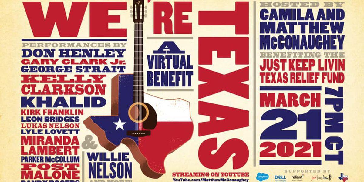 Miranda Lambert, George Strait, Willie Nelson among lineup for McConaughey concert