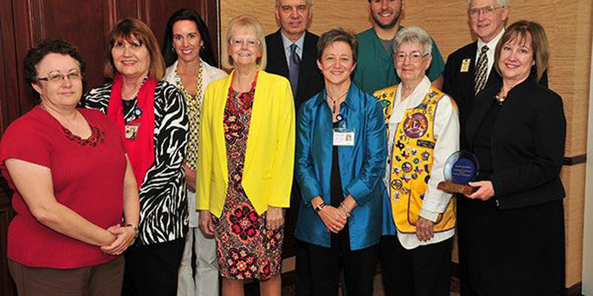 ETMC honored for eye donations