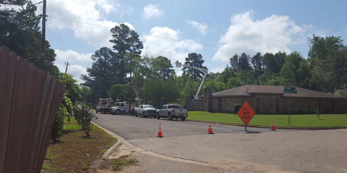 Power crews continue to work across ETX, thousands remain without electricity