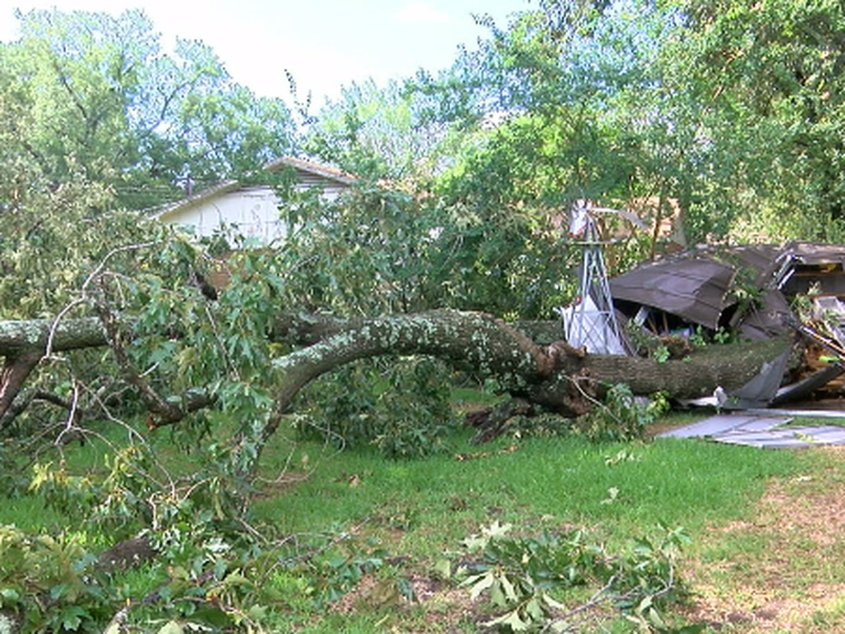 East Texas couple gets hit by storms for a third time, destroys shed