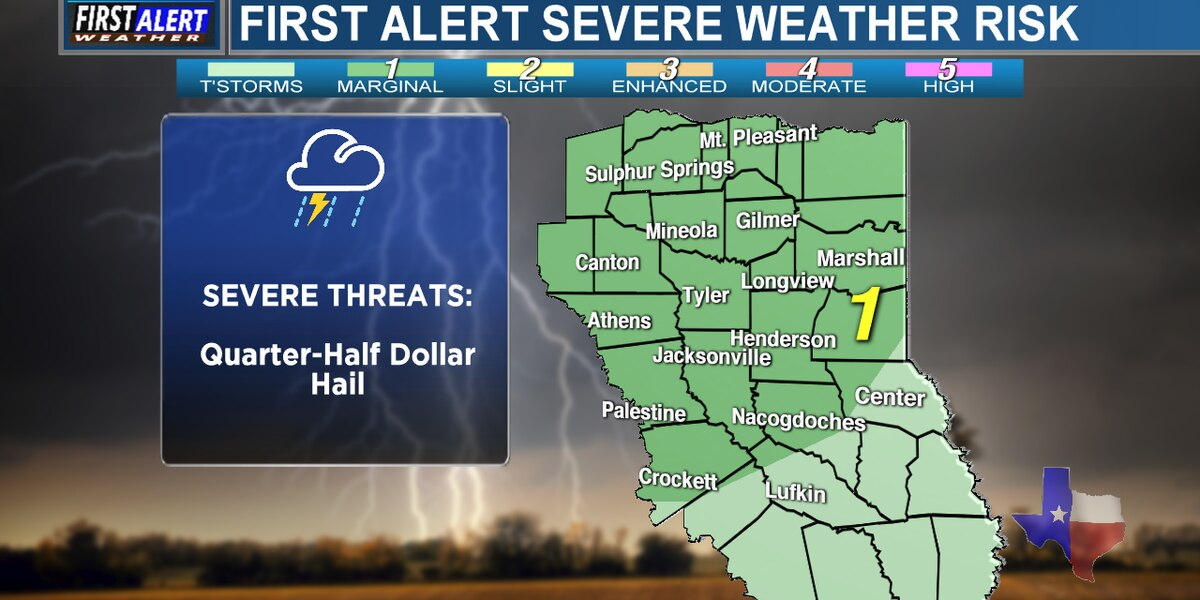 Severe storms possible this evening and overnight; Special note for Thundercall users