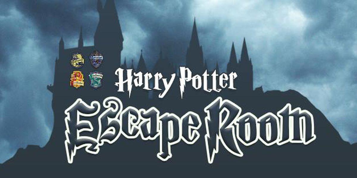 Longview Public Library holding Harry Potter Escape Room