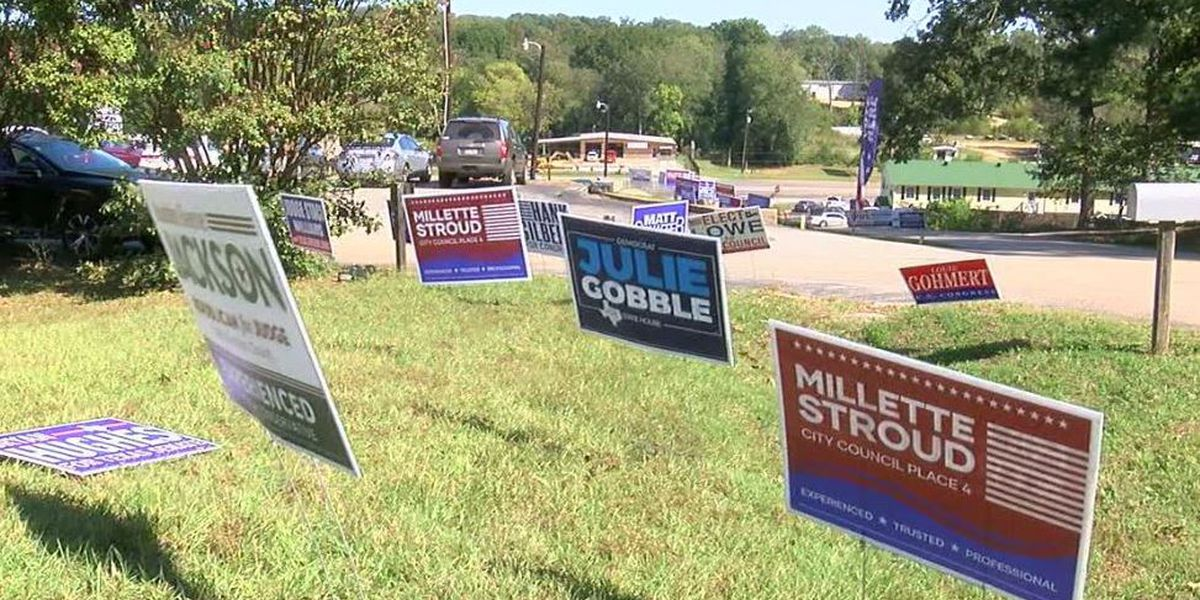 WEBXTRA: Candidates now under deadline to remove campaign signs