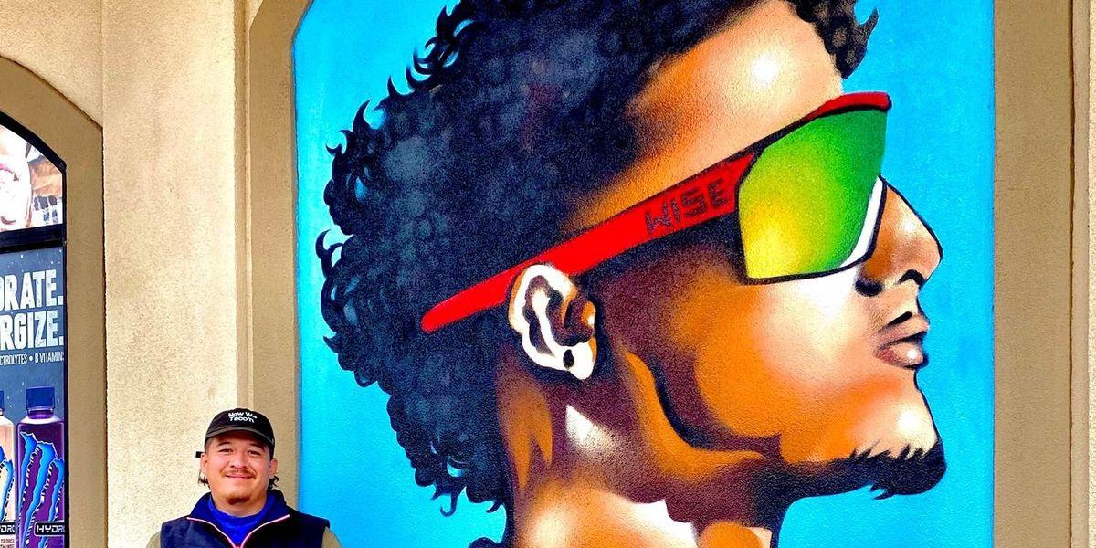 New Patrick Mahomes mural in Lubbock