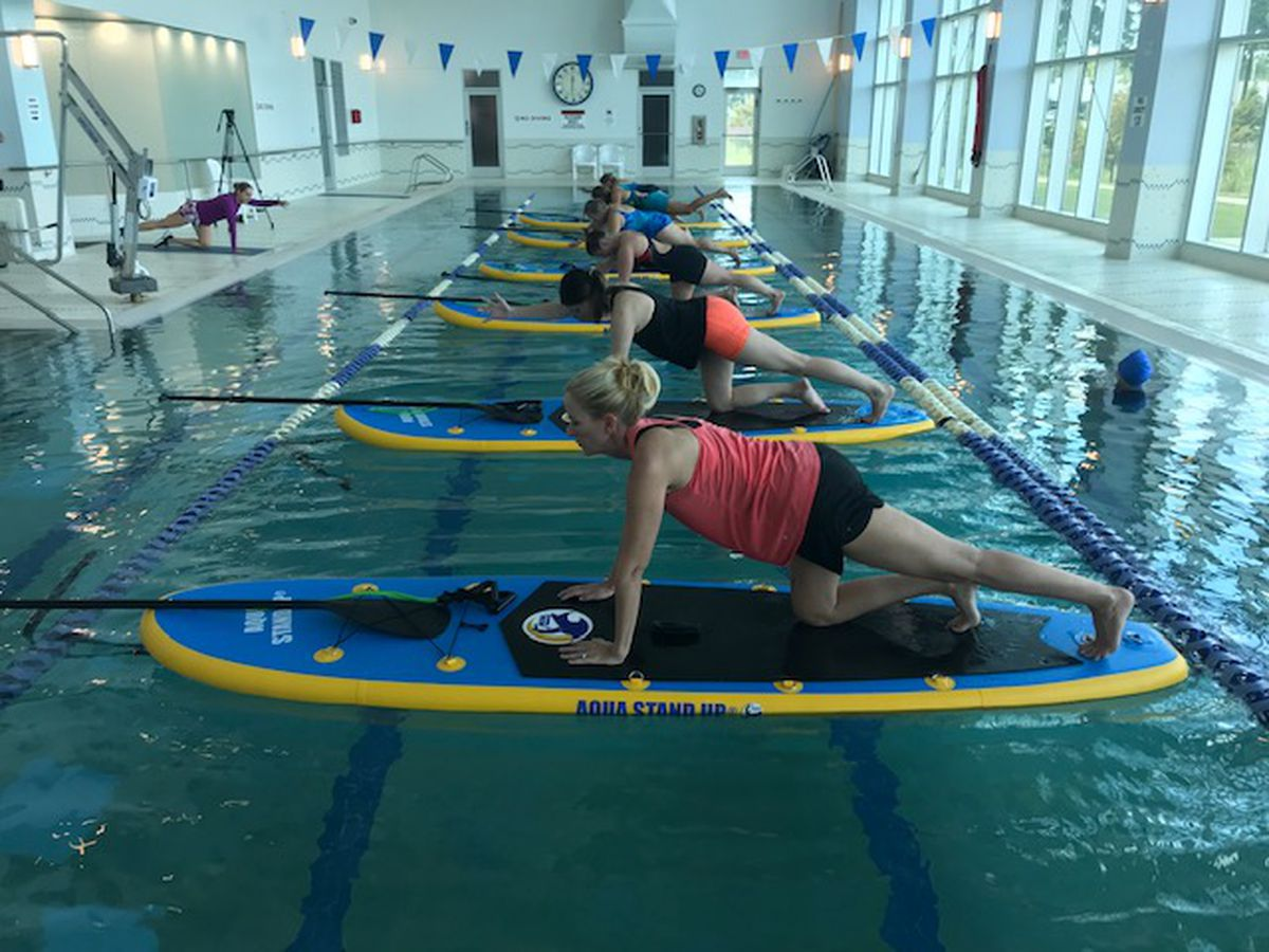 Longview's Institute for Healthy Living launches paddle board fitness program