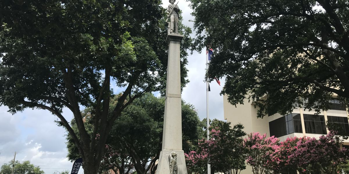 Petition calls for moving confederate statue from grounds of Gregg County Courthouse