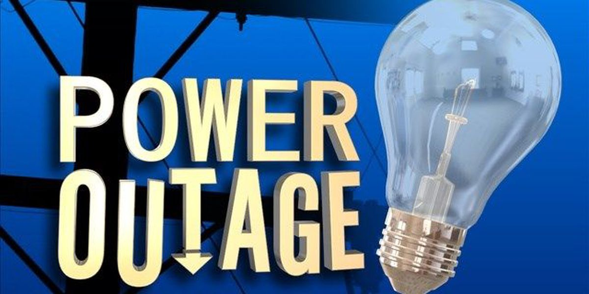 More than 1,300 without power in Kilgore