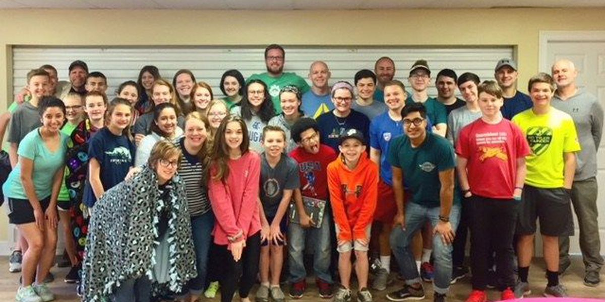 Student Ministry helps church affected by Hurricane Harvey
