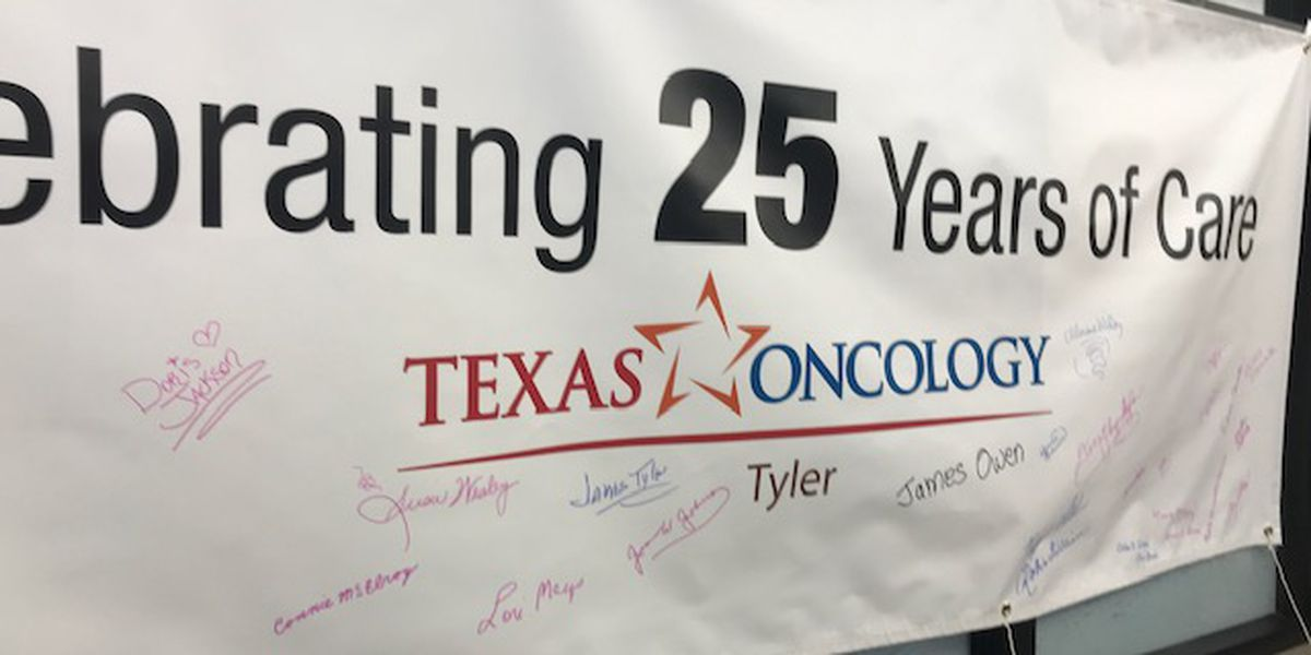 Texas Oncology - Tyler celebrates 25 years of caring for East Texas cancer patients