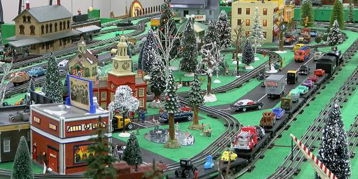 The Christmas trains are right around the bend