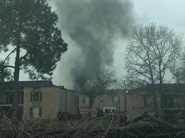 UPDATE: At least one family displaced after Tyler apartment fire