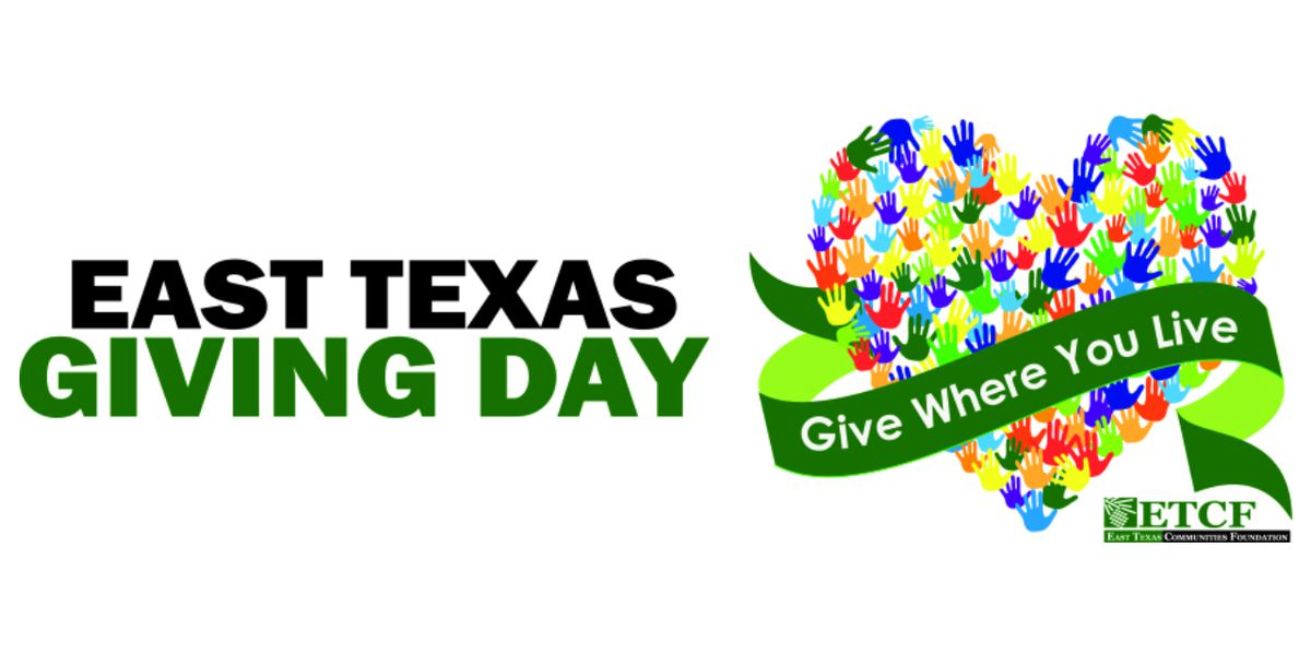 East Texas Giving Day to provide critical fundraising opportunity for 200 nonprofits