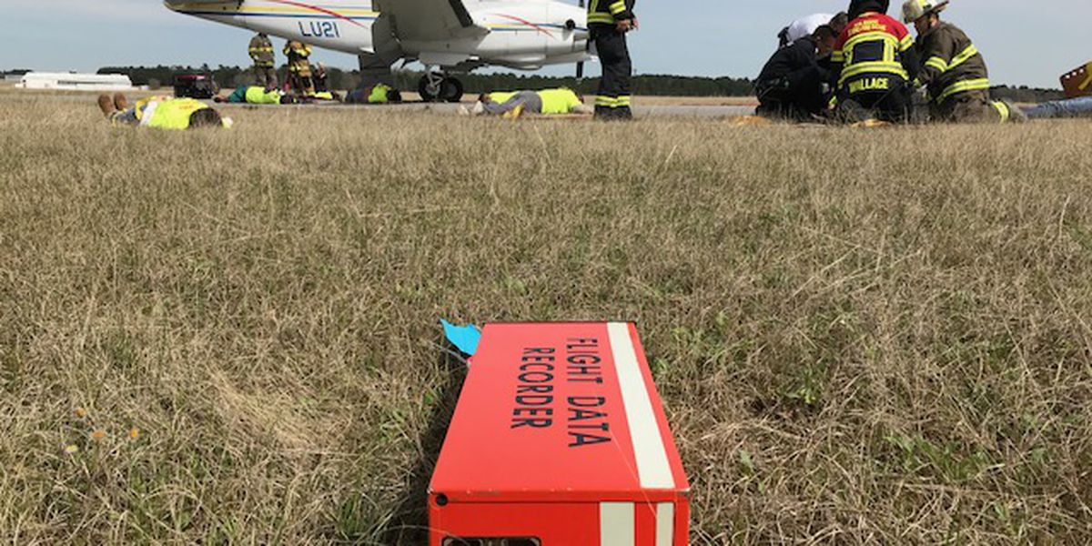 East Texas Regional Airport conducts full-scale emergency drill