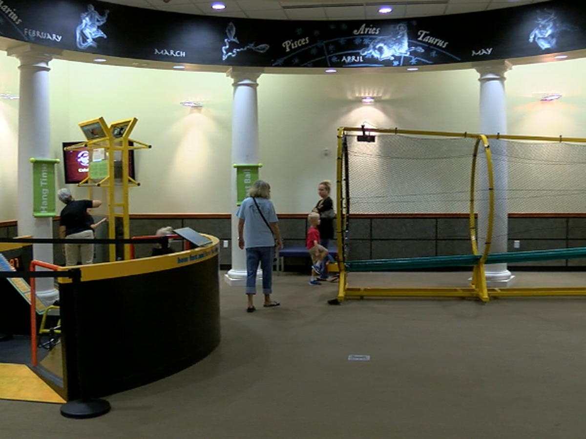 Science and athleticism combine in new hands-on sports exhibit at