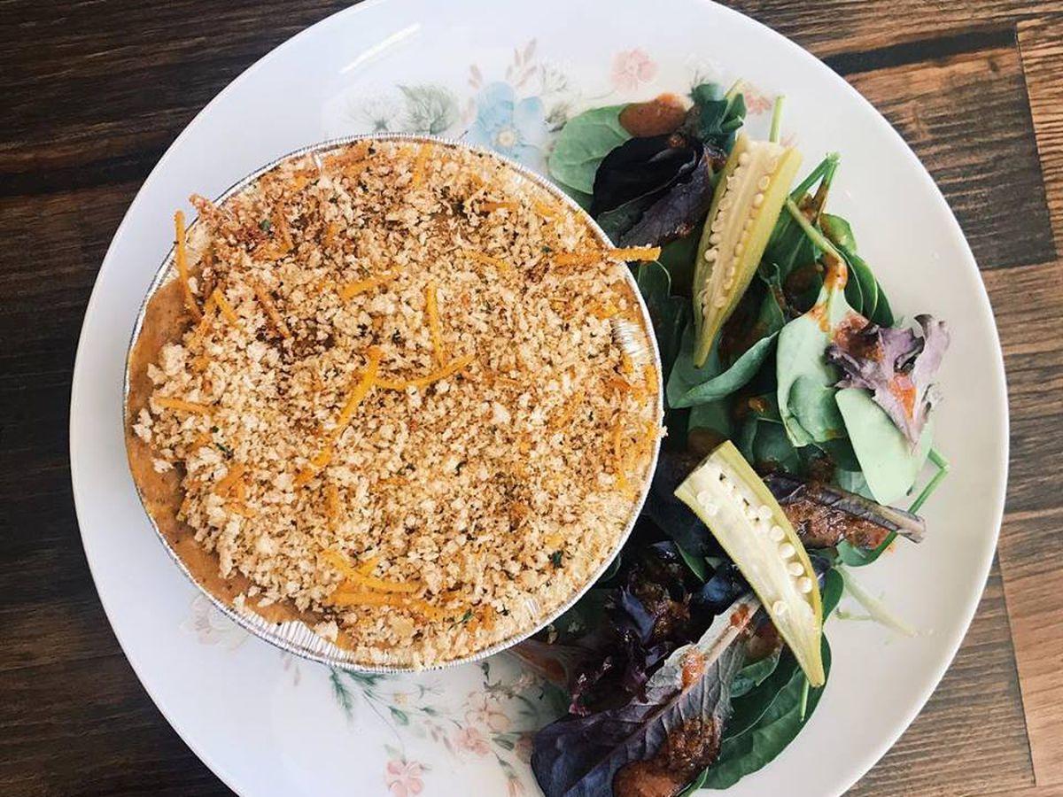 Crawfish gratin by Pearl's Kitchen
