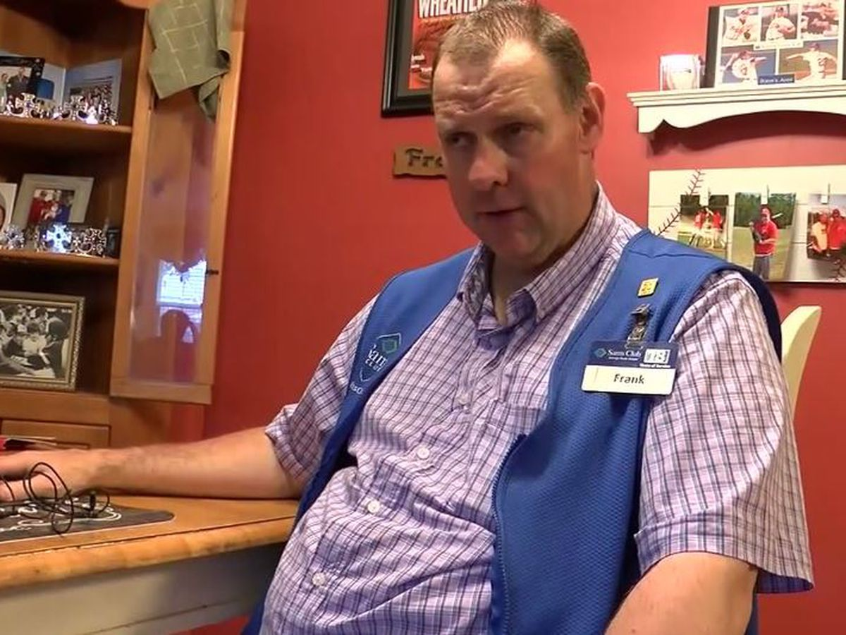 Longtime greeter at Sam's Club in S.C. says he was put on leave due to autism