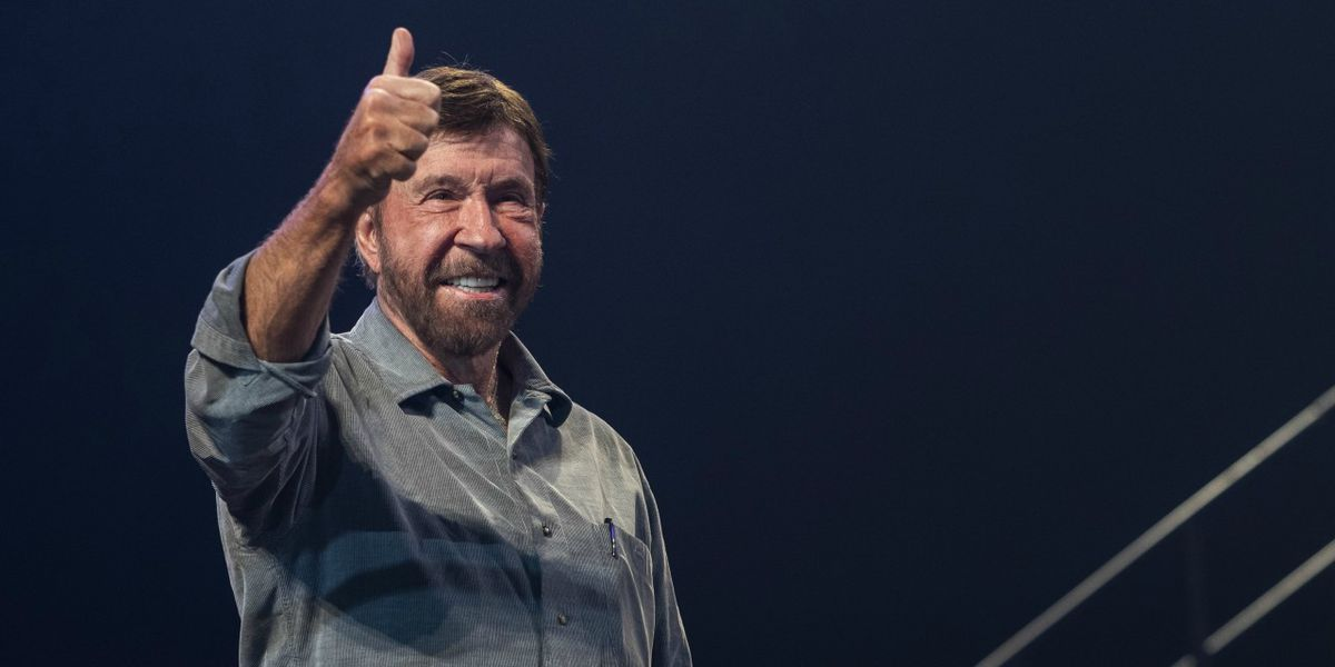 Chuck Norris is celebrating his 80th birthday