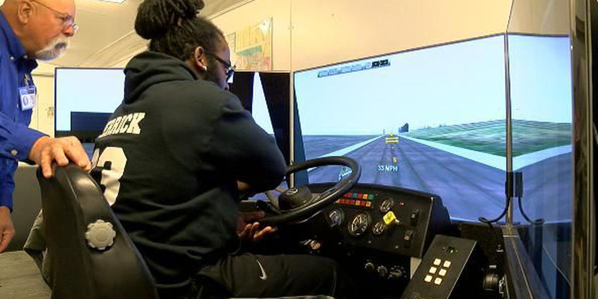 Virtual school bus improves driver's skills