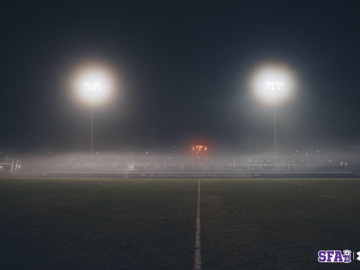 SFA, Sam Houston Marathon soccer match ends in no contest