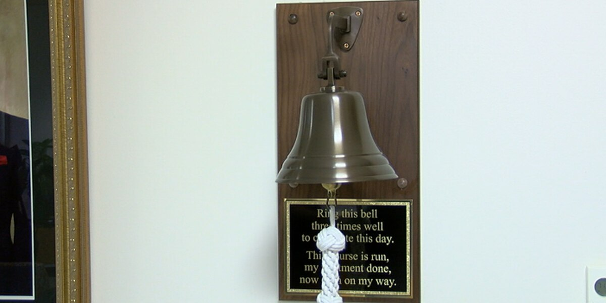 Cancer survivor donates cancer bell to UT Health Tyler