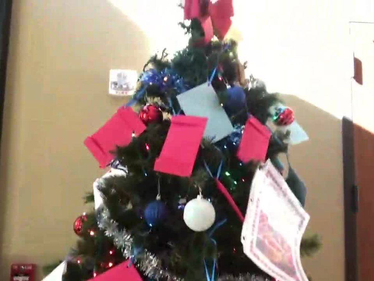 WEBXTRA: Tyler veterans home hosts its first Angel Tree for veterans