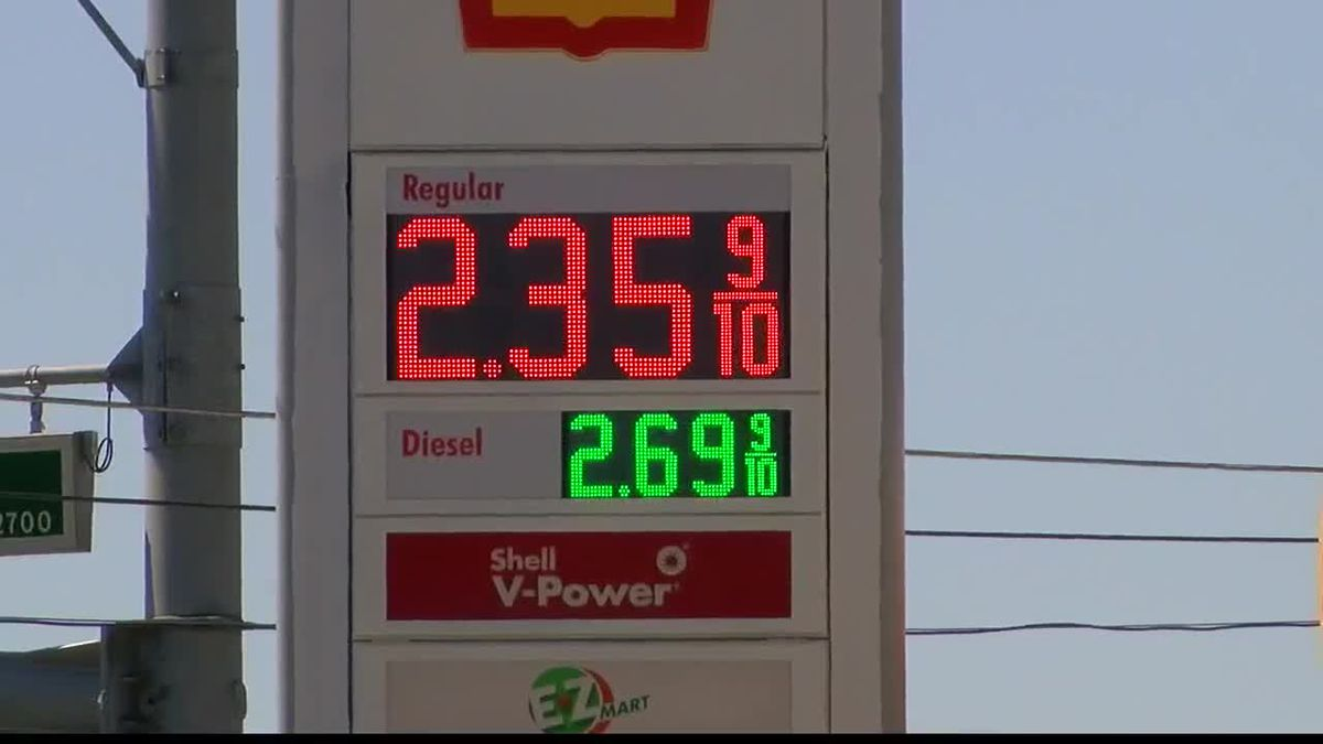 62 percent of southern families plan on traveling regardless of slow rising gas prices