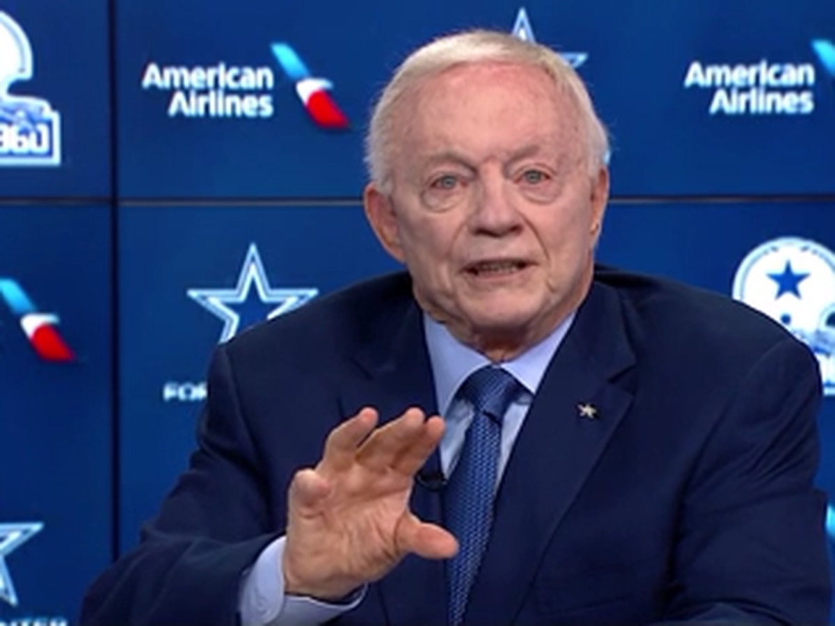 Cowboys owner Jerry Jones remains optimistic about fans at games