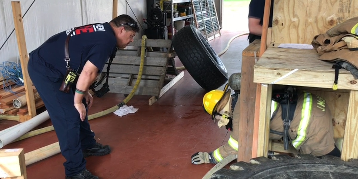 Longview firefighters train in mayday circumstances to prepare for worst-case scenarios
