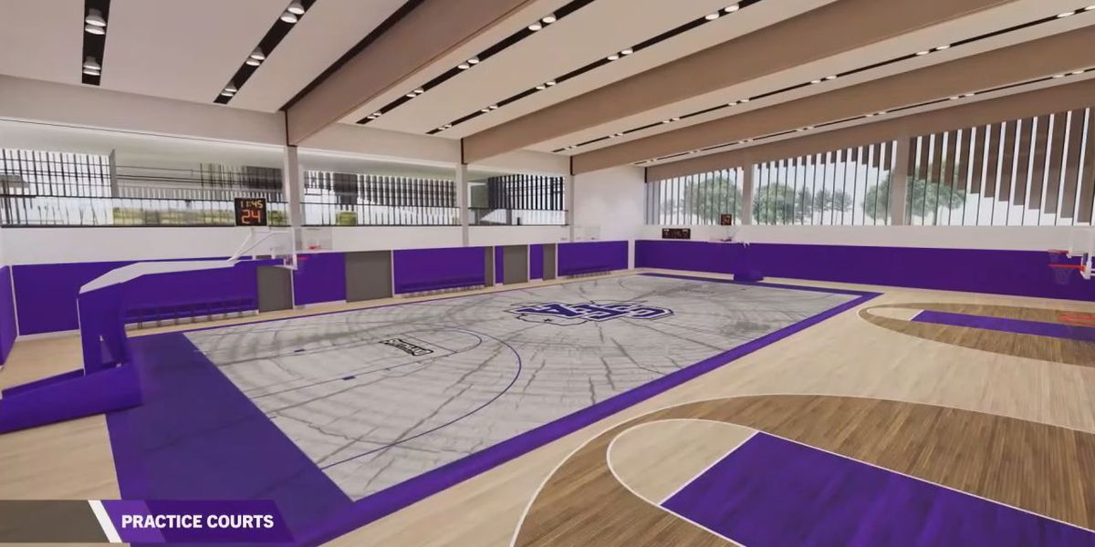 Webxtra - Weather causing delays for new SFA basketball Facility