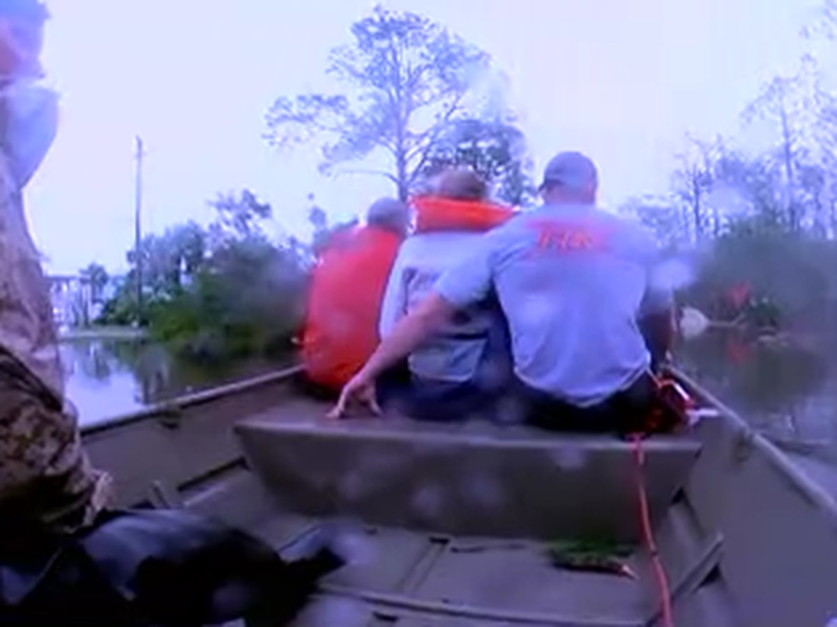 One person drowns, another saved from drowning by Cajun Navy