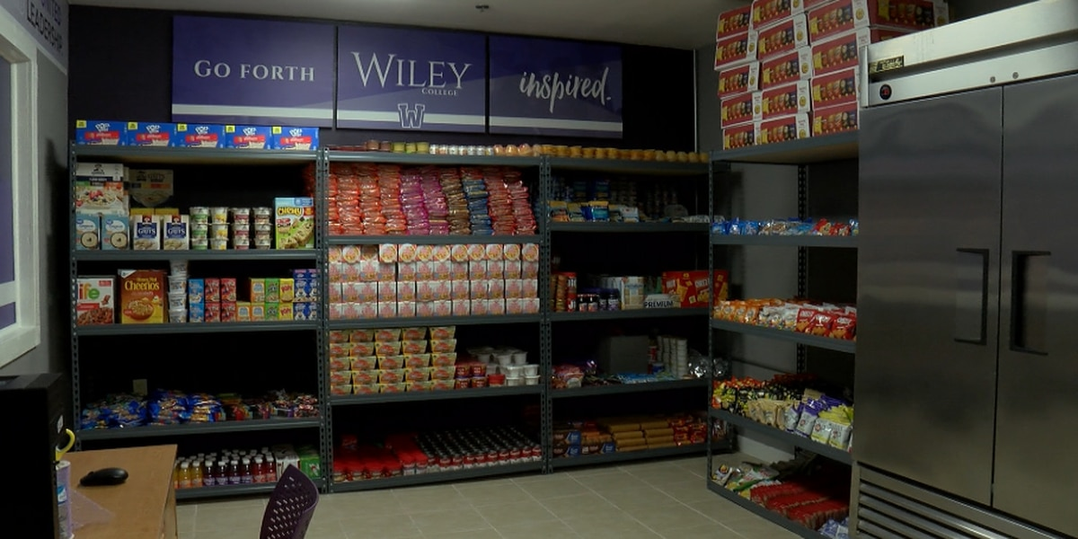 Wiley College opens food pantry for students