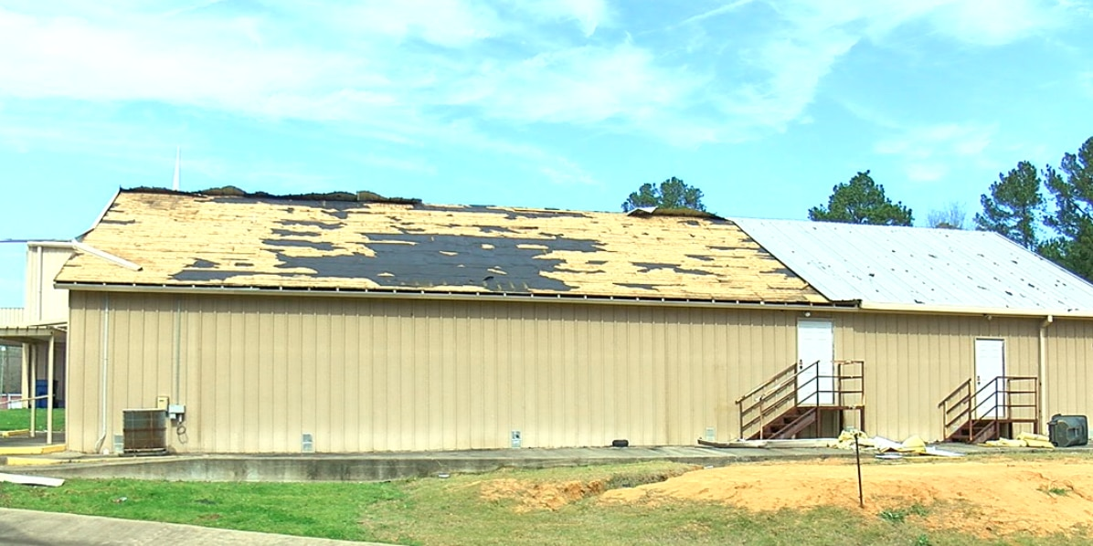 Kilgore's Highland Park Baptist Church suffers major roof damage