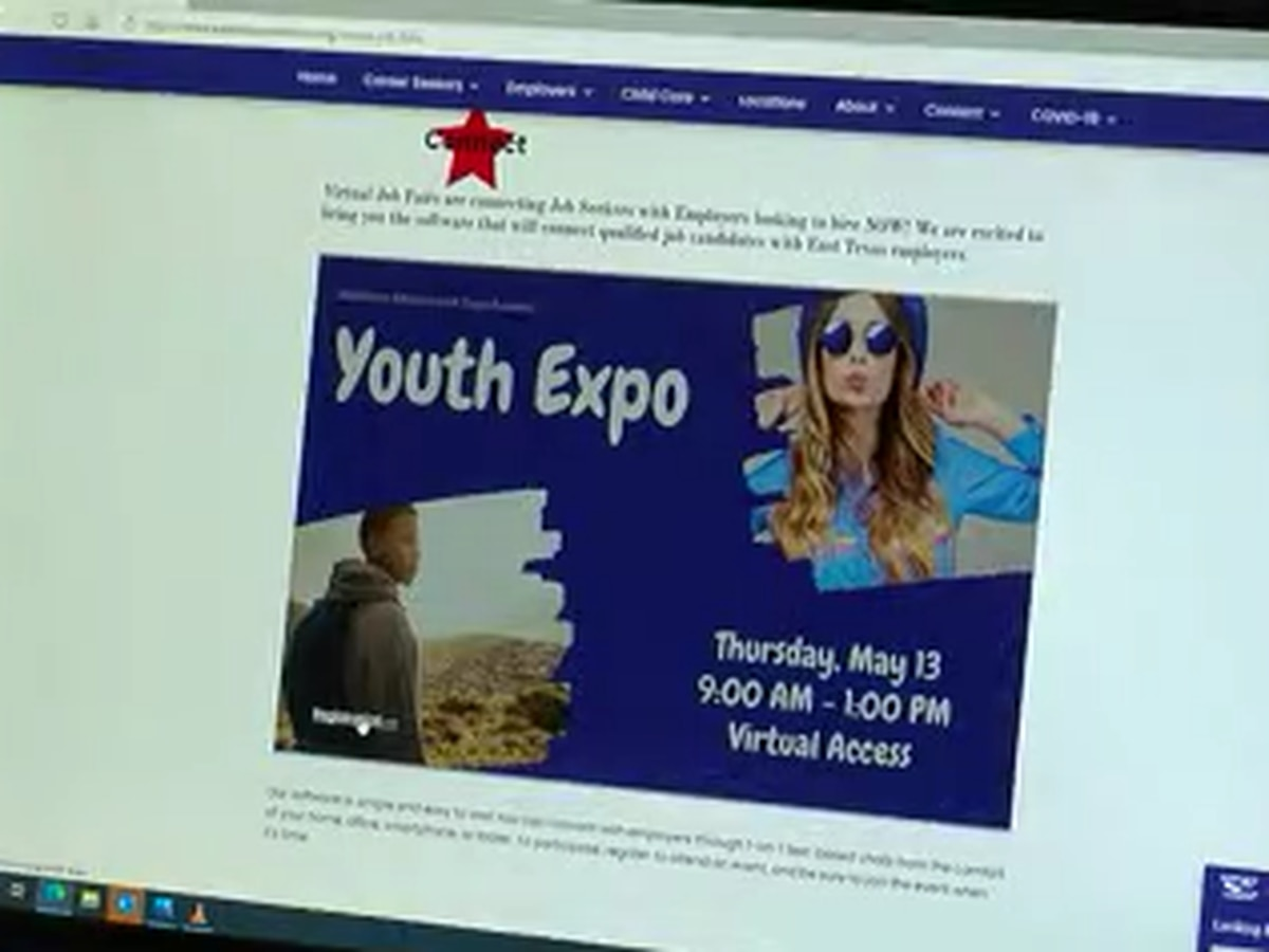 Workforce Solutions East Texas holds virtual youth expo