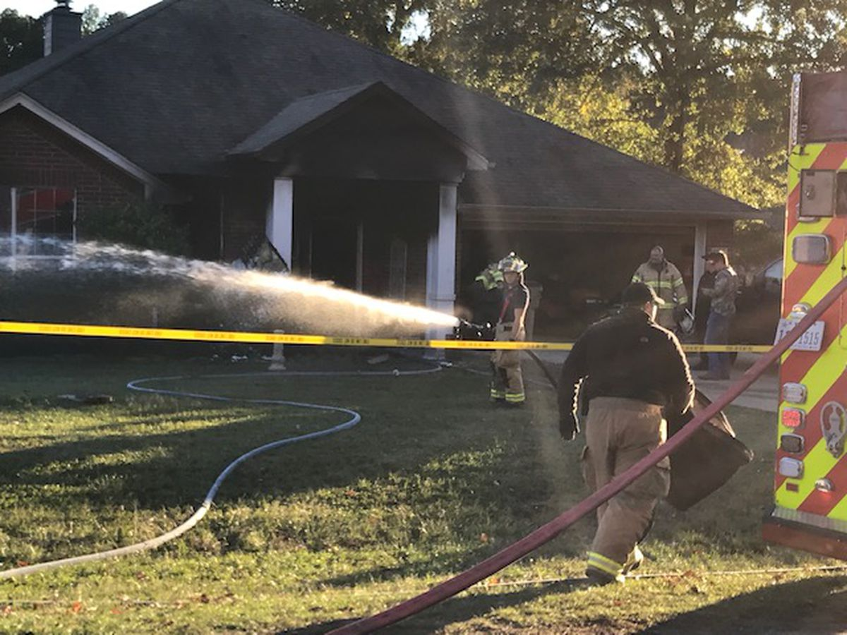 Man careflighted from Noonday area house fire with burns to 10 percent of body