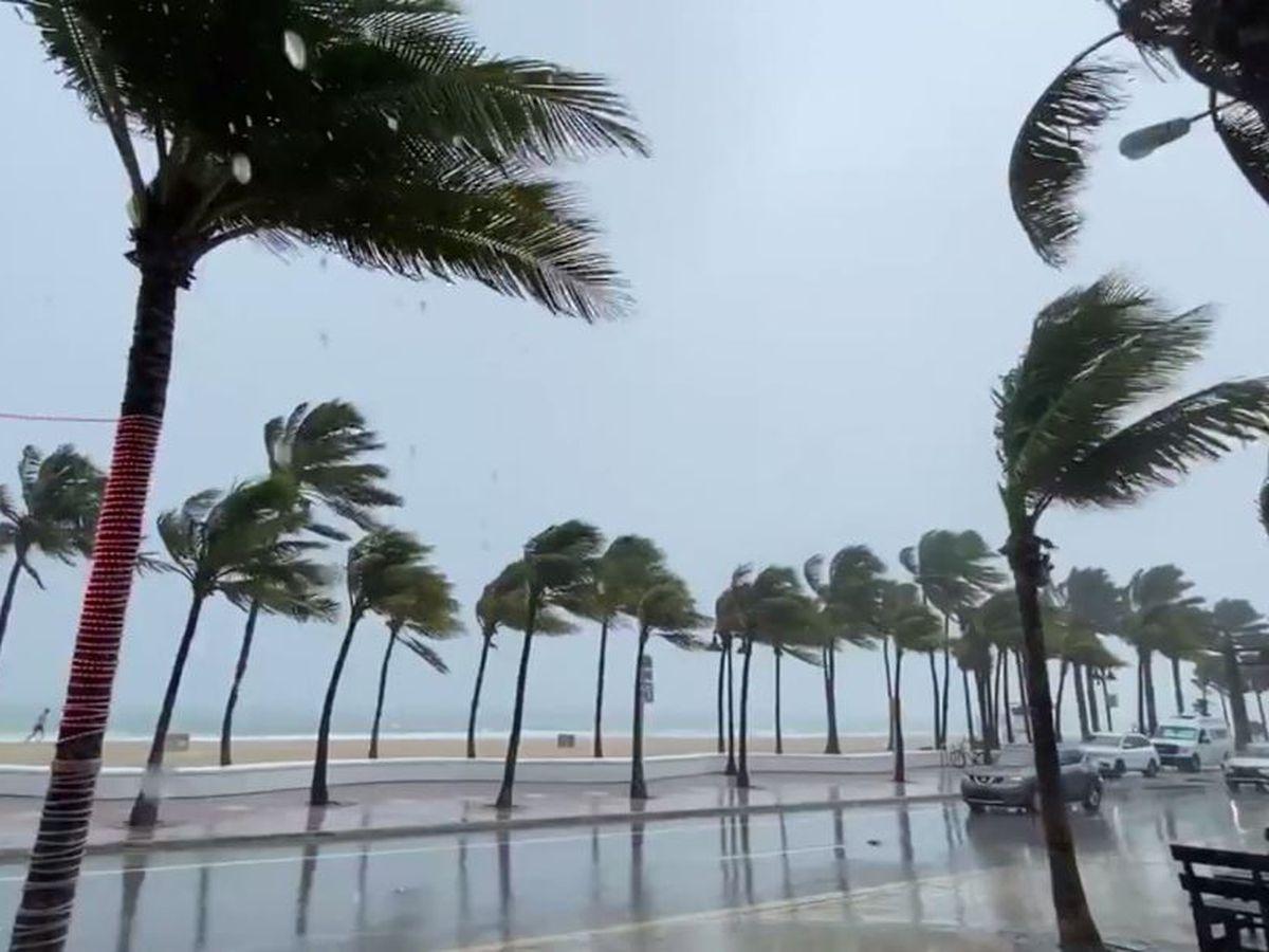 A weakened Tropical Storm Isaias lashes virus-hit Florida