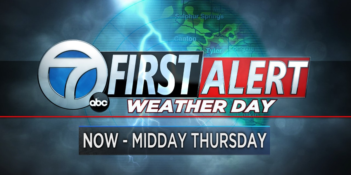 First Alert Weather Days through midday Thursday
