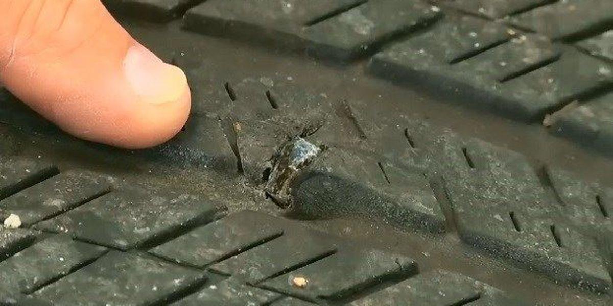 Slag on Tyler roads may be damaging tires