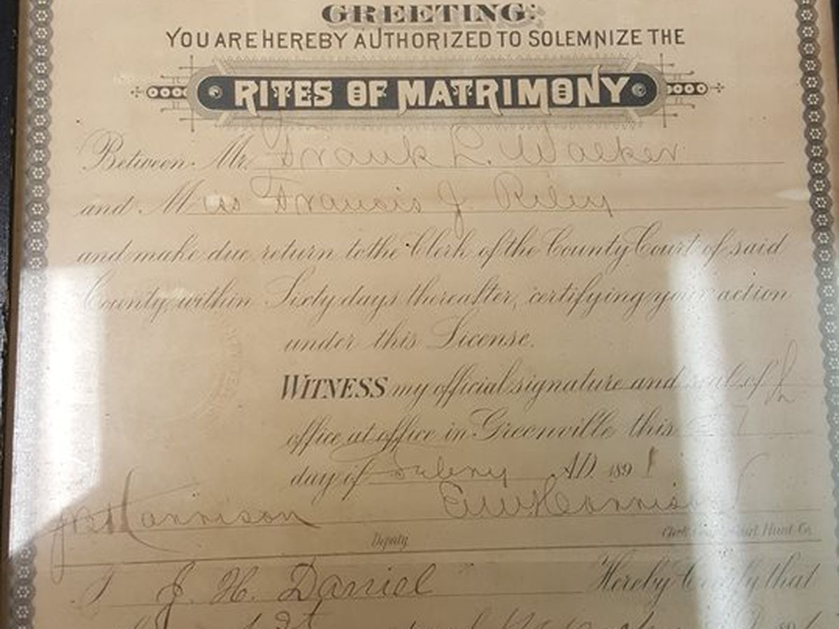 East Texas man hopes thrift store find reunites family with historical document
