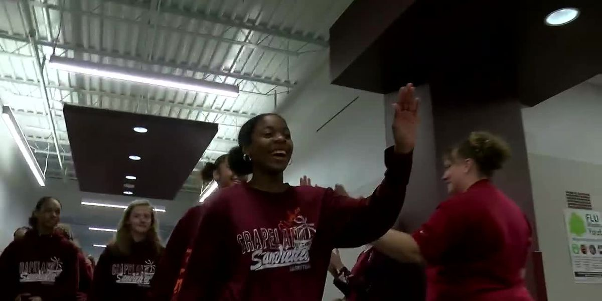 WEBXTRA: Grapeland heads to state 2A girls basketball state tournament