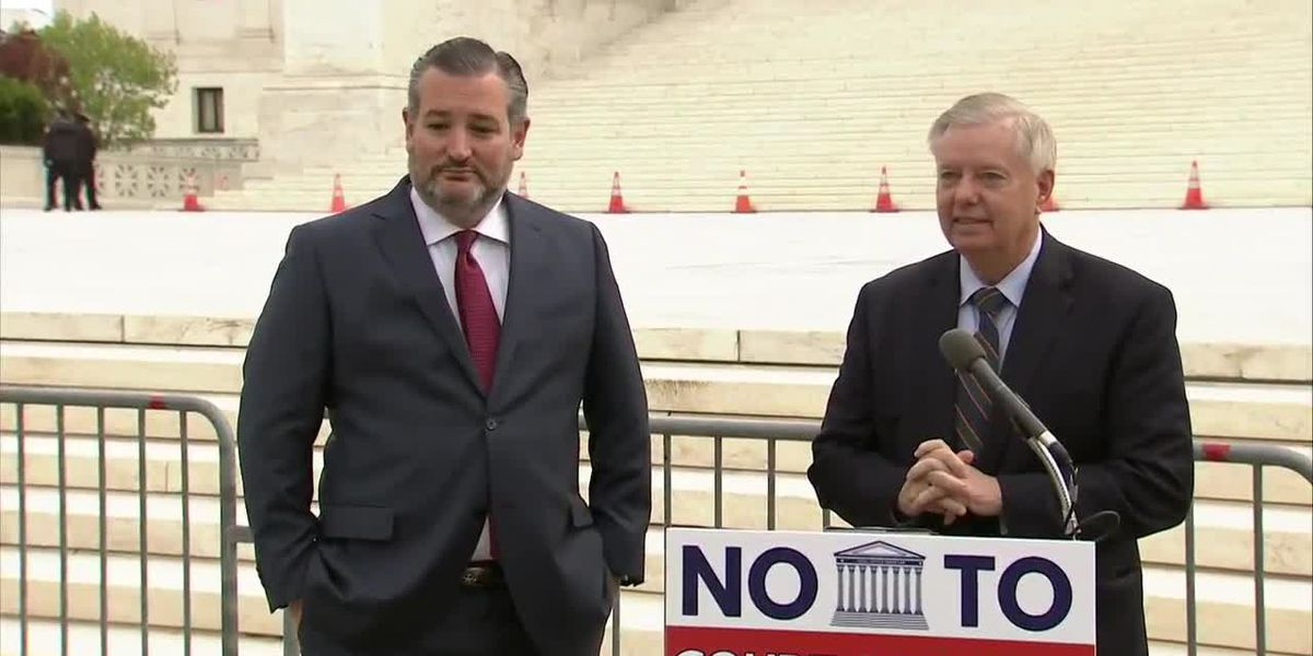Cruz and Graham against expanding the Supreme Court