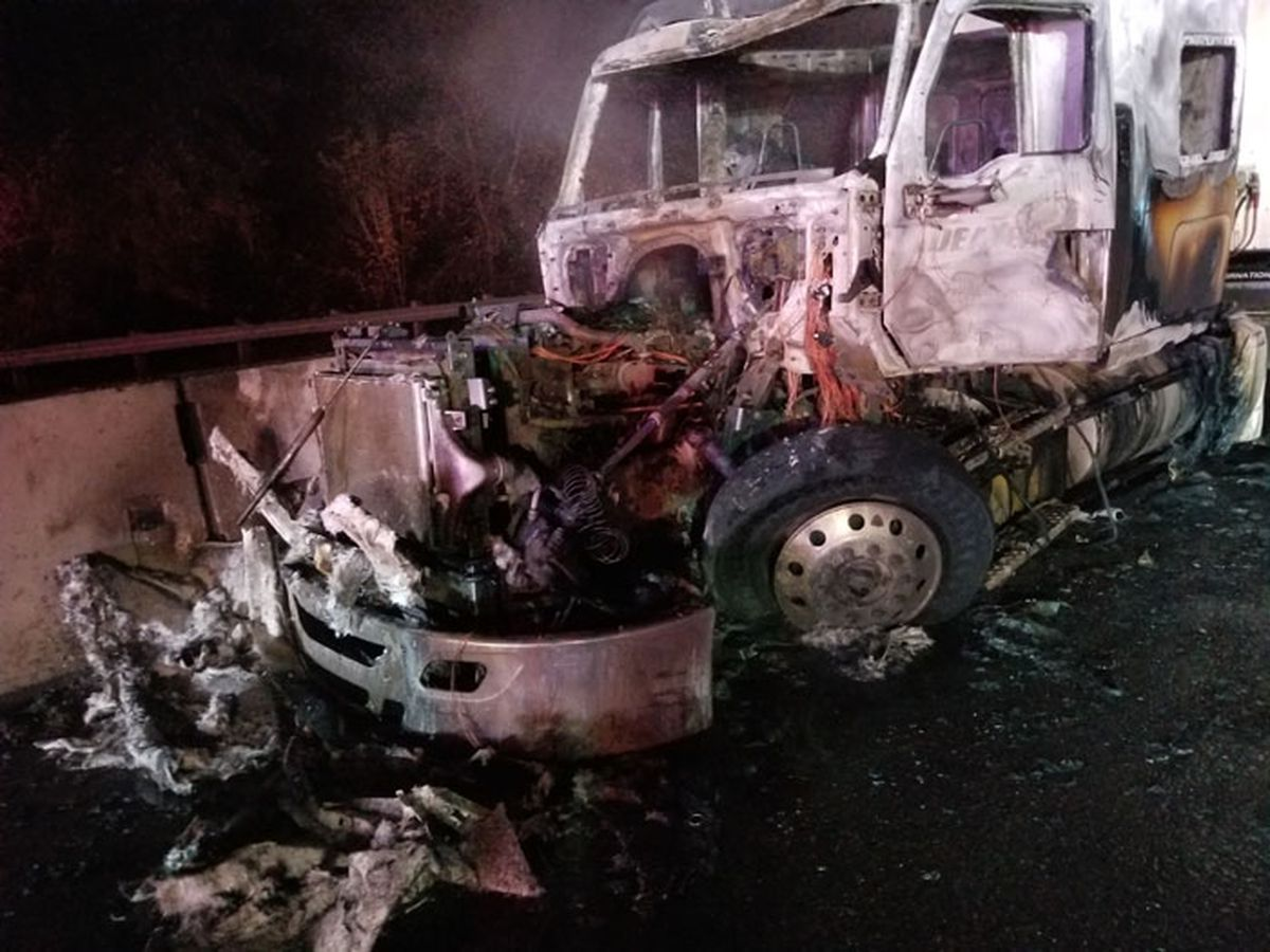 Oregon State Police: Shelbyville man drove 18-wheeler wrong way on I-5, hit another big rig