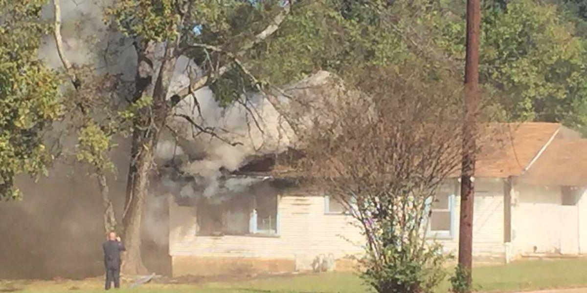 Longview fire crews responding to house fire