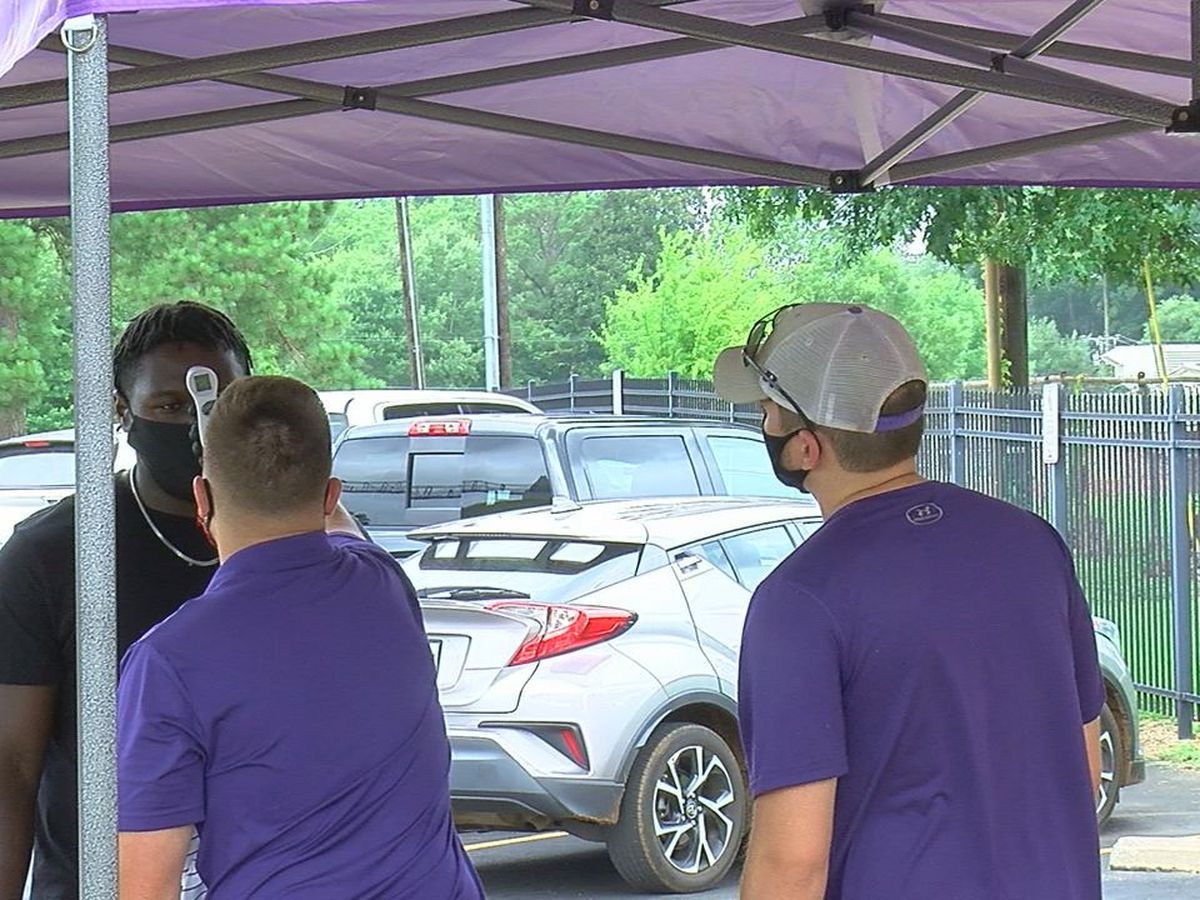 SFA athletes return to campus with precautions in place