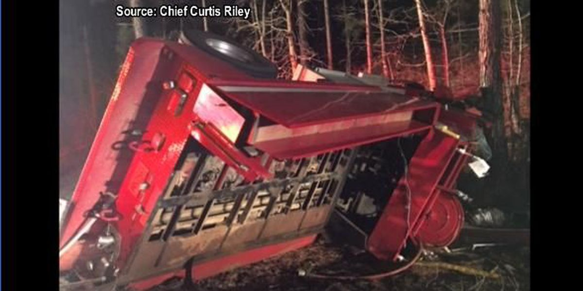 New London fire chief gives details about fire truck wreck