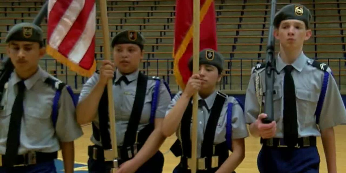 WATCH: John Tyler JROTC cadets undergo Army evaluation and inspection