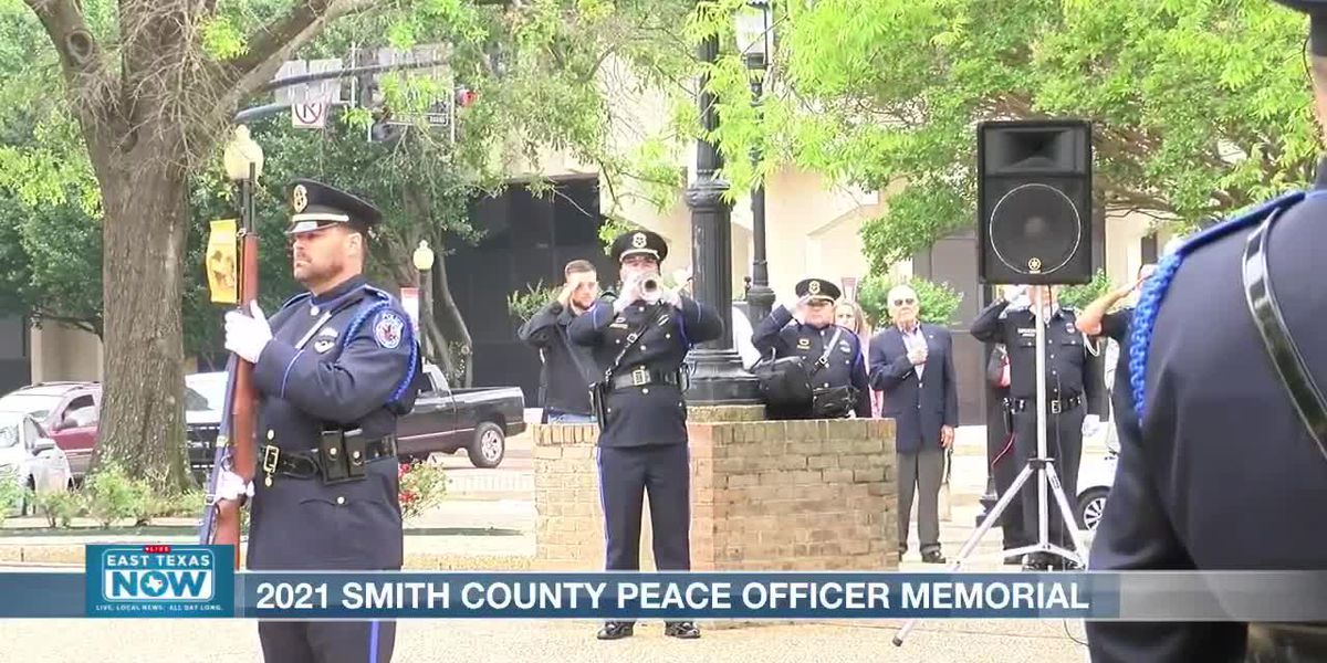 East Texas peace officers memorialized at events in Tyler, Marshall