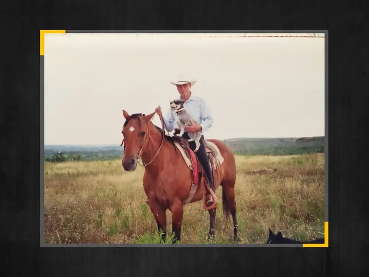 After 91 years, coronavirus brings a Texas rancher's last sunset