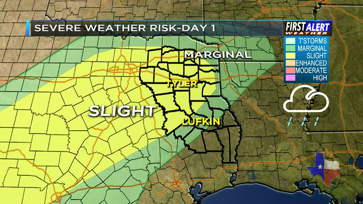 First Alert Weather Day Sunday afternoon, evening, and overnight