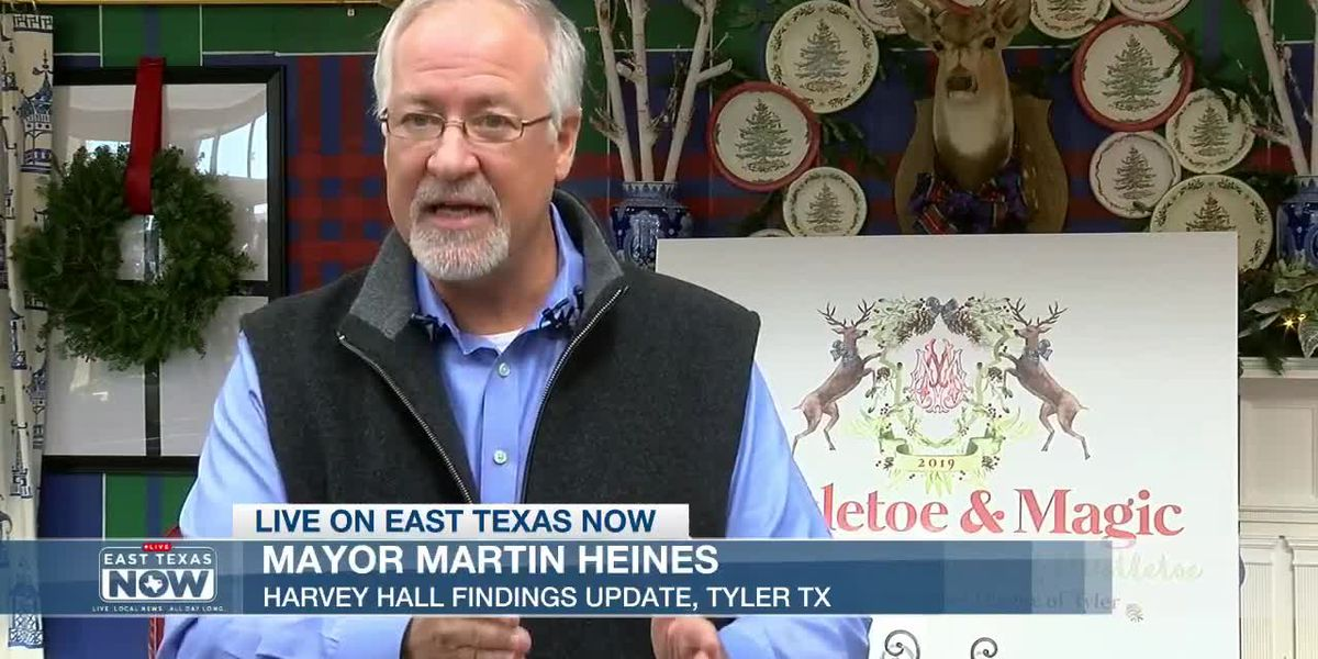 Tyler mayor on Harvey Hall: 'We've aggressively cleaned this building to where there's no issue'