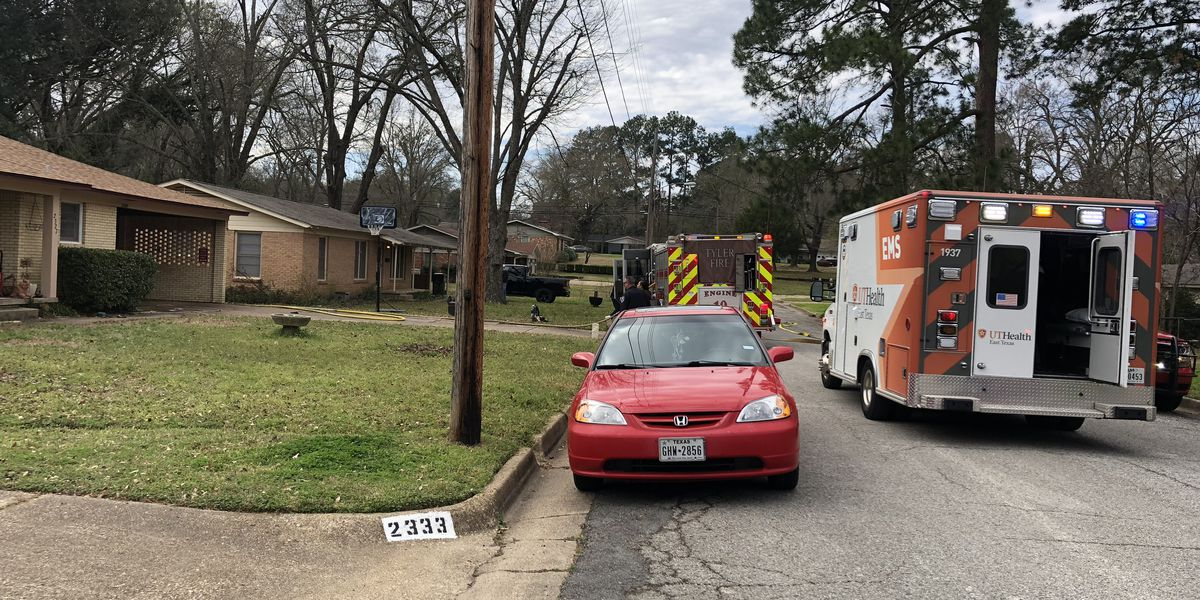 One treated for smoke inhalation after tool shed fire in Tyler